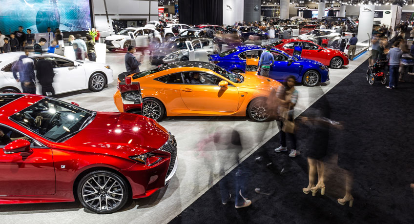 The Business Of Cars At The Vancouver International Auto Show - Car show tomorrow